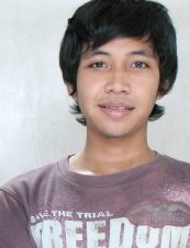 Sukarno 26 y.o. from Indonesia